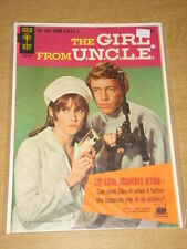 GIRL FROM UNCLE #1 VG+ (4.5) GOLD KEY COMICS JANUARY 1967 COVER B