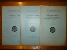 GABRIELI BIBLIOGRAFIA LINCEA con documenti inediti Roma 1932 / 1933