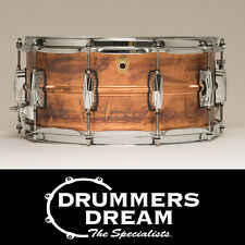 """NEW Ludwig USA CopperPhonic 14x6.5"""" Snare Drum Raw PATINA Copper Finish LC663"""