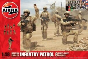 Airfix 03701 1:48th British Forces Infantry Patrol Figures Operation Herrick