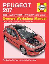 Reparaturhandbuch Peugeot 207 06-09 Brandneu!