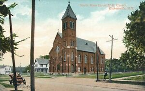 GLOVERSVILLE NY - North Main Street M. E. Church