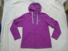 The North Face Purple Full Zip Hoodie Top - Size Large (14 UK)