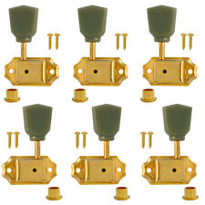 3L3R Vintage Guitar Tuning Pegs Machine Heads Tuners Keys Gold