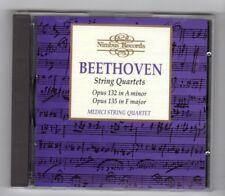 (HY918) Beethoven, String Quartets, Medici String Quartet - 1991 CD