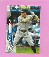 2020 Topps 582 Montgomery Club Foil Stamp #614 Brett Gardner New York Yankees