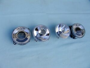 "BMW E30 M3 HELLA EURO HEADLIGHTS, BRAND NEW, ""SMILEY´S"""