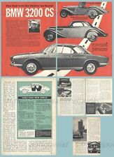 BMW 3200 CS Bertone Coupé (Typ 532) / Hans Stuck - Original Test von 1962