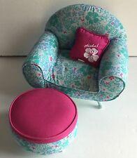 Kanani Hawaiian American Girl Doll Lounge Chair Set