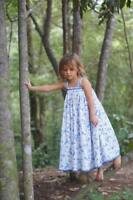 Girls WDW Well Dressed Wolf Josephine blue floral maxi (Josie) Size 5 years NWT