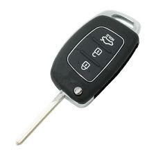 Flip Key Shell fit for HYUNDAI ix45 Santa Fe Remote Key Case Fob 3-Button B R5T8