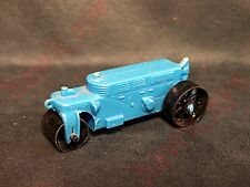 VINTAGE PLASTIC STEAM ROLLER TOY WITH DRIVER MADE USA BY BANNER