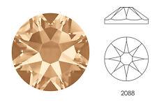 10x Swarovski® Crystals Flatback crystal golden shadow 2088 NoHF SS34 7mm Xirius