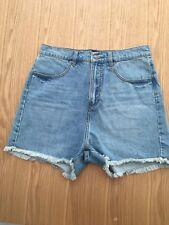 RIP CURL High waisted womens denim short size 12 BNWT