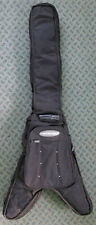 Attitude Brand Flying V Electric Guitar Soft Case Backpack Straps