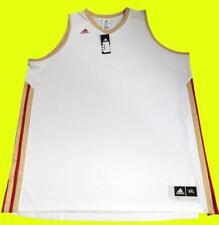 """adidas """"SIG JERSEY"""" Herren Tank Shirt Basketball ärmellos weiß Gr. 3XL XXXL"""