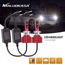 ZES H7 100W 24000LM +CANBUS LED Car Headlight Kit Bulbs High Or Low Light 6000K