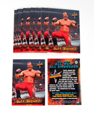 Lot of (25) 1999 Topps WCW Embossed Buff Bagwell Promo Card (P1) Nm/Mt