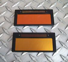 Two Cool Blue Gold Amp Bronze Auto Darkening Welding Lenses 2x4 Weld Lens 10 Amp 11