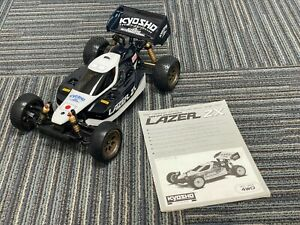 Vintage Kyosho Lazer ZX 4WD Buggy in Excellent Shape with Manual and EXTRAS