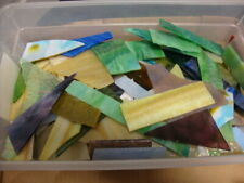 10 Pounds Stained Scraps For Mosaics