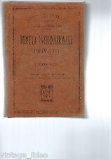 Manuali Hoepli - Diritto Internazionale Privato di  F. P. Contuzzi - 1911
