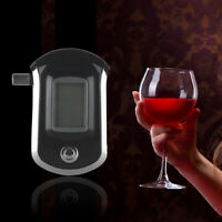FT- Police Digital Breath Detector Alcohol Tester LCD Screen Breathalyzer Analyz