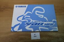 Yamaha ybr-125 ybr-125ed 3d9-f8199-f1 manuel du proprietaire xf514