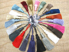 Delta key tassel 12cm  Trim fabric decoration sewing decor material Bag keyring