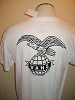 Vans Shoes Mens SS Global Landing OTW Logo T Shirt White XXL Free Ship NWT