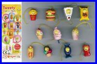 Set 11 Figures Tweety Birthday Party Mini Winnies Style Gashapon Italy Rare