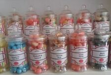 Victorian Retro Sweet Jar filled with Jelly Sweets Wedding  Party  Birthday Gift