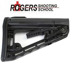Authentic! Rogers Super-Stoc Deluxe Carbine Superstock BLACK Butt Stock 223 5.56