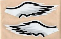 Philadelphia Eagles FULL SIZE FOOTBALL HELMET DECALS WITH BUMPERS