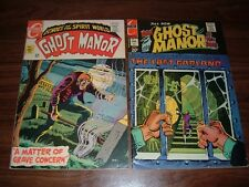 Ghost Manor 1-46---many high grade--Ditko art--lot of 12 comic books