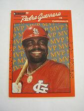 1990 Donruss #BC-6 Pedro Guerrero Baseball Card, Good Condition (EB1-32)