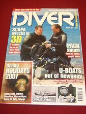 DIVER - SCAPA WRECKS IN 3D - Jan 2007 Vol 52 # 1