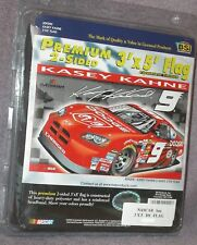 3x5 ft KASEY KAHNE # 9 NASCAR SIGNATURE COLLECTOR'S EDITION DOUBLE SIDED FLAG