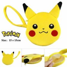 Coin Purse Pikachu Plush Cosplay Anime Pocket Monster Pokemon Wallet Pouch Gifts