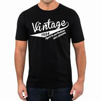 65th Birthday Present Gift Year 1954 Aged To Perfection Retro T-Shirt Unisex Tee