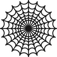Decorative Spider's web design Funny Vinyl Decal Stickers JDM VW VAG lrg SM4-143