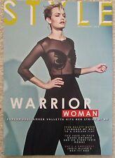 Amber Valetta  – Sunday Times Style magazine – 18 January 2015