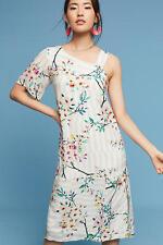 NWT - ANTHROPOLOGIE - PAUL & JOE - Ninotta Silk Dress sizes XS/S/M (White) $348