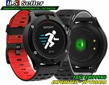 Smart Watch F5 Heart Rate Monitor GPS Water Resistant Barometer Altimeter RED