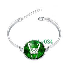 Loki bracelet glass cabochon Tibet silver bangle bracelets wholesale