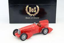 Alfa Romeo Tipo B P3 Aerodinamica année 1934 rouge 1:18 BoS-Models