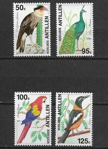 Netherland Antillies 1994 Birds set of 4  MINT NH