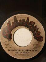 "Sister Nancy – Transport Connection - 7"" Vinyl Single"