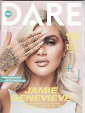 JAMIE GENEVIEVE  - KAZ CROSSLEY LOVE ISLAND -  DARE MAGAZINE MAY / JUNE 2019