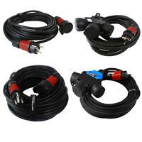 Verlängerungskabel Stromkabel H07RN-F 230V Schuko IP44 Schutzkontakt Gummikabel